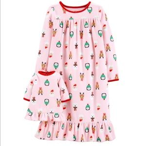 Carter's Christmas Nightgown NWT